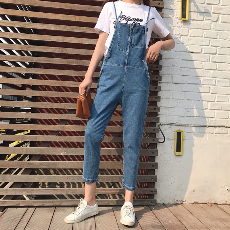 Cynthia Store 2017 autumn womens jumpsuit female denim jumpsuit shorts women jeans overalls jumpsuits playsuits  bodysuit