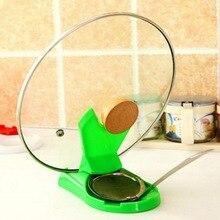 Новая полезная ложка для кастрюль с крышкой полка для приготовления пищи кухонный Декор инструмент подставка держатель