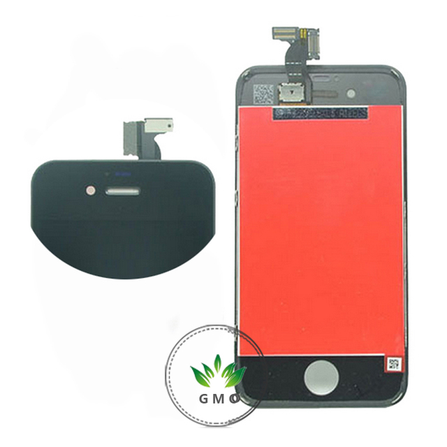 Replacement LCD For iPhone 4g 4s LCD Display With Touch Screen Digitizer+ Anti-Dust Mesh+Frame assembly Free Shipping