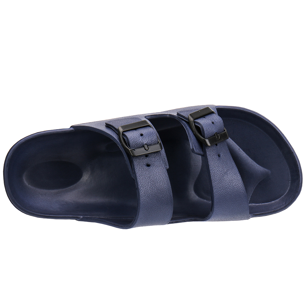 62726a5cbf568f ALEADER Mens Classic Mule Sandals Summer Slip On Open Toe Slides Casual  Beach Shoes Birken EVA Shock Absord Garden Clogs stock-in Men s Sandals  from Shoes ...