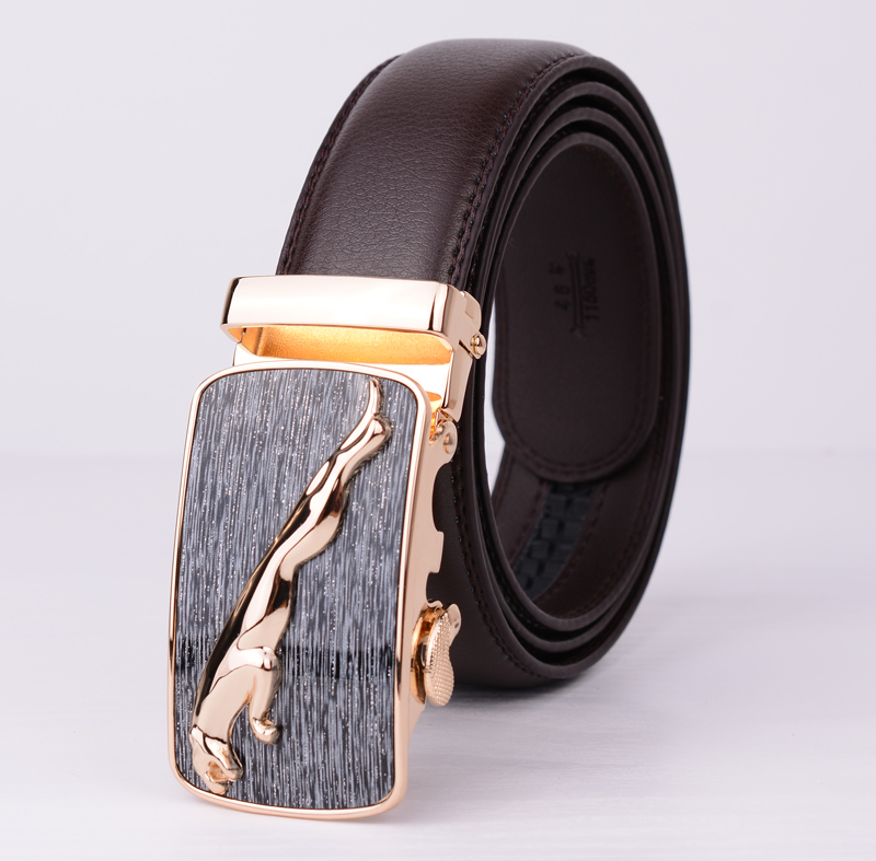 327d24b511367 Free Shipping Fashion Cowskin Leather Belt Men Brief Cowhide Genuine Strap  Buckle Casual High quality Belt for Gift 2016