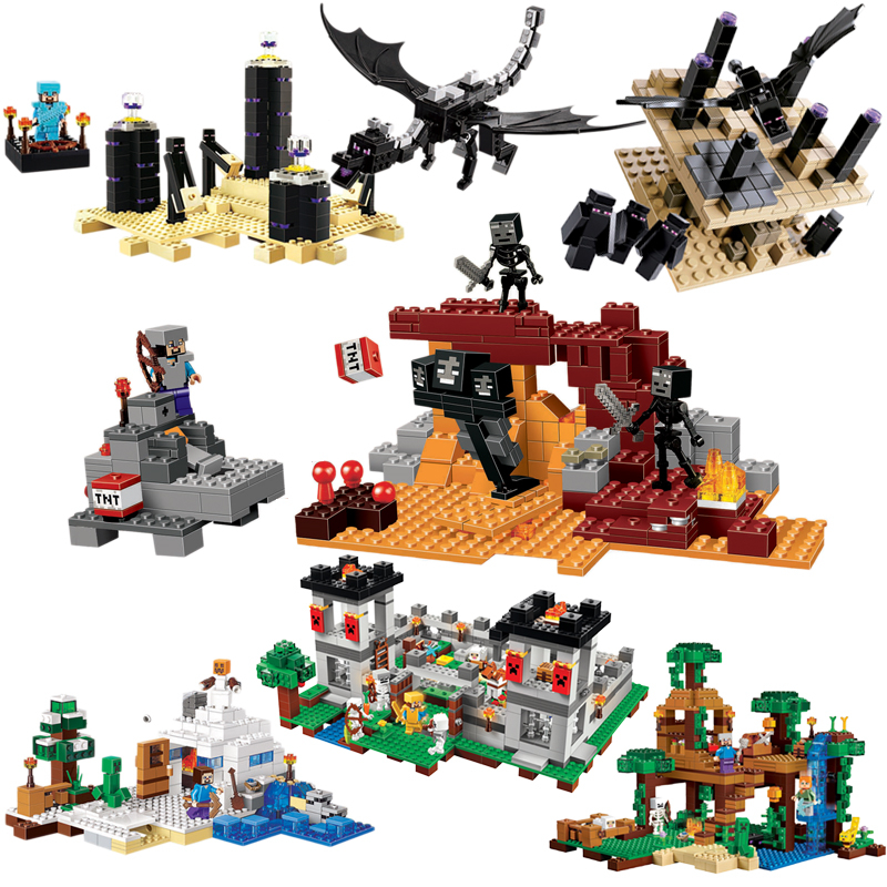 Bela 10469 Compatible Legoe Minecrafte My World Zombies 2018 New Building Blocks Bricks Action Figures Toys gifts for children bl10470 lepin decool bela building blocks bricks action figures toys minecrafted my world model set gifts for children zombies