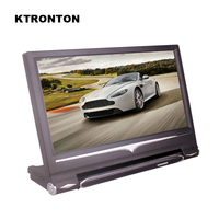 9 inch 16:9 Universal HD TFT Color LCD Headrest Monitors for Car DVD Player with Remote Controller and 2 two way video inputs