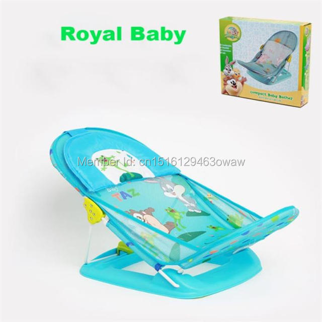 Baby bath chair with pillow baby folding bath bed safe and ...