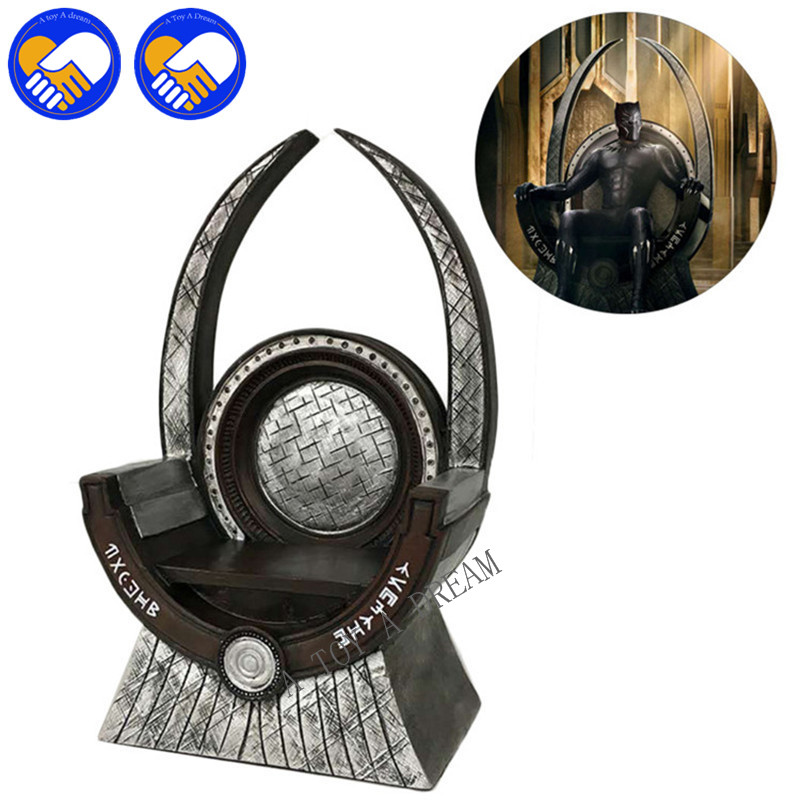 NEW HOT Black Panther Throne & Game Of Thrones A Song Of Ice And Fire 1/6 Scale Model Dolls Decoration PVC Action Figure TOY 17cm the iron throne game of thrones a song of ice and fire action figure toys sword chair model toys chirstmas gift