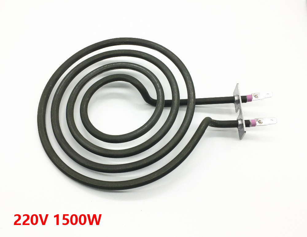 four  mosquito coil type heater tube for stove surface burner, 4-ring electric heating element electric water heater thermostat temperature control switch heating tube electric heating tube heating rod for ariston