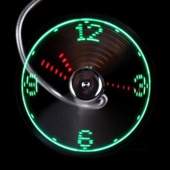 Usb led clock fans gooseneck mini light flexible phone fan gadget summer for home office pc.jpg 350x350