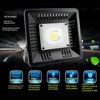 30W/50W/100W LED Flood Light Outdoor Search Lamp LED Luminaire Ultra Thin Spotlight @8 JDH99