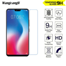 wangcangli 2.5D 0.26mm for VIVO Y81 tempered glass Ultra-thin Anti-fall mobile phone film 9H screen protector