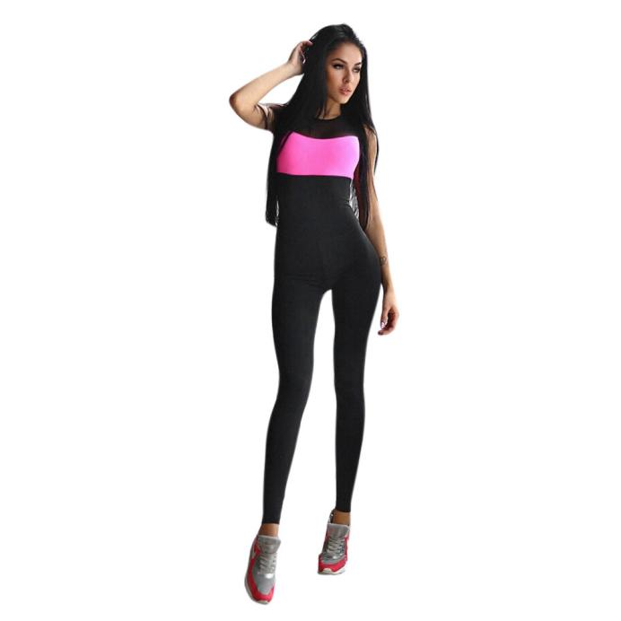 Free Ostrich Bodysuit new high quality sexy fashion Summer Sleeveless   Jumpsuit   Active Wear Fitness Stretch Bodysuits women D0635