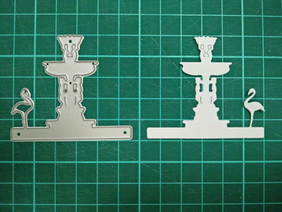 Fountain Metal Die Cutting Scrapbooking Embossing Dies Cut Stencils Decorative Cards DIY album Card Paper Card Maker polygon hollow box metal die cutting scrapbooking embossing dies cut stencils decorative cards diy album card paper card maker