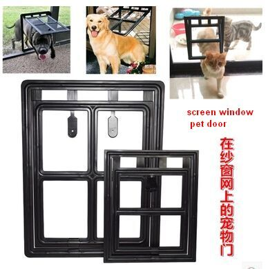 Large Size Pet Door Cat Dog Door Window Screen Anti Mosquito Screen