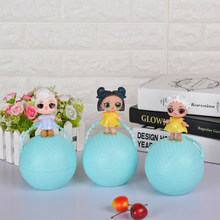 Funny Toy 10cm LOL Doll Random Dress Up Baby Tear Open Color Change Egg Dolls serie 2 in the Balls Toys For Girls figurines(China)