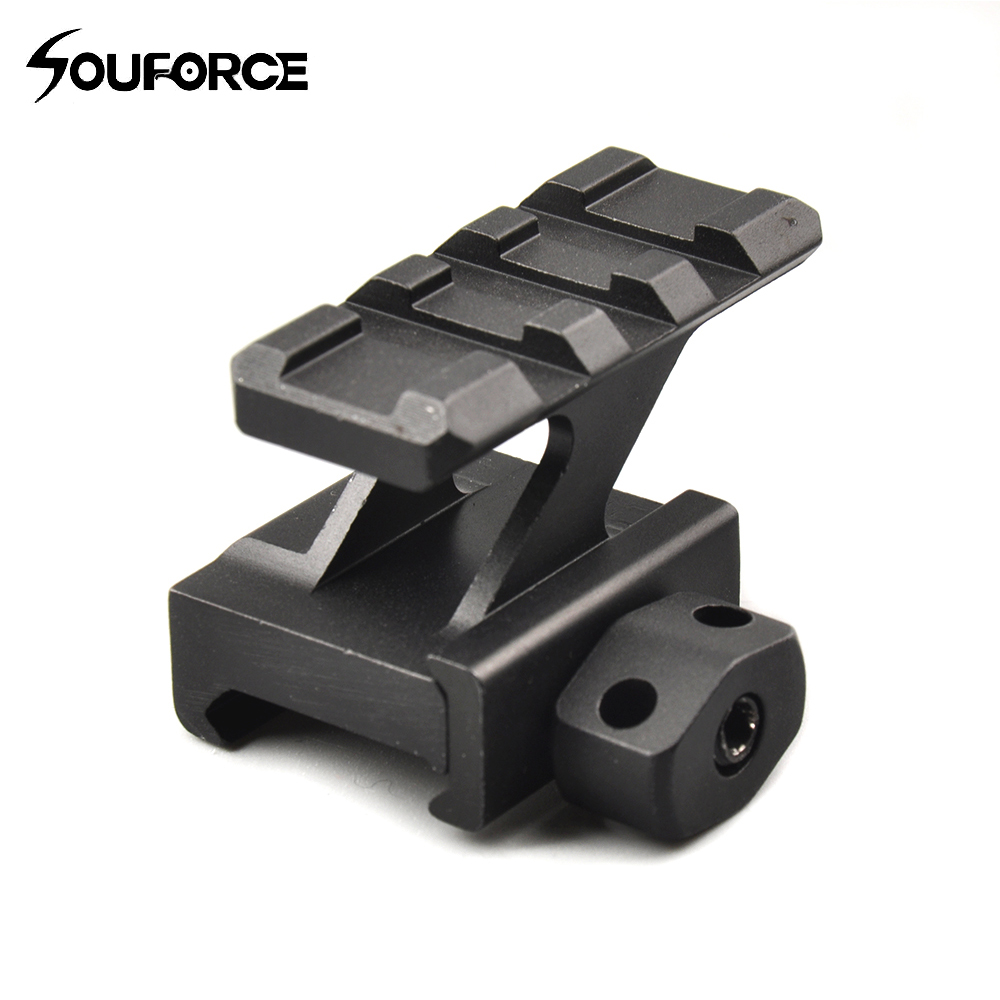 3 Slots Top 20mm Picatinny Rail 30mm High Riser Mount for Rifle Scope Hunt Outdoor Hunting Accessories