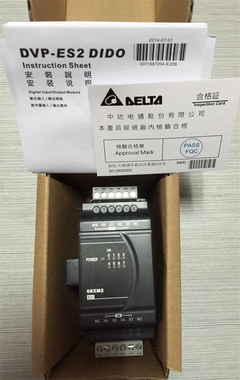 ФОТО DVP08XM211N Delta ES2/EX2 Series Digital Module DI 8 24VDC new in box