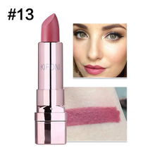 1PC 20Colors Hot Sale Glitter Matte Lipstick Makeup Waterproof LongLasting Shimmer Diamond Lipstick Cosmetics Professional TSLM2