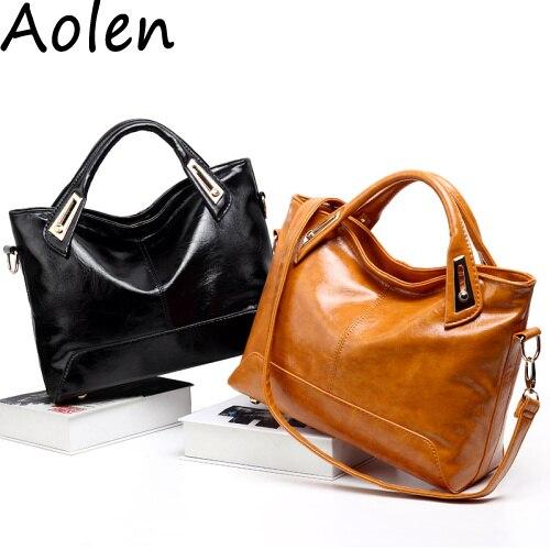 Aolen women messenger font b bag b font luxury handbag high quality women font b bags