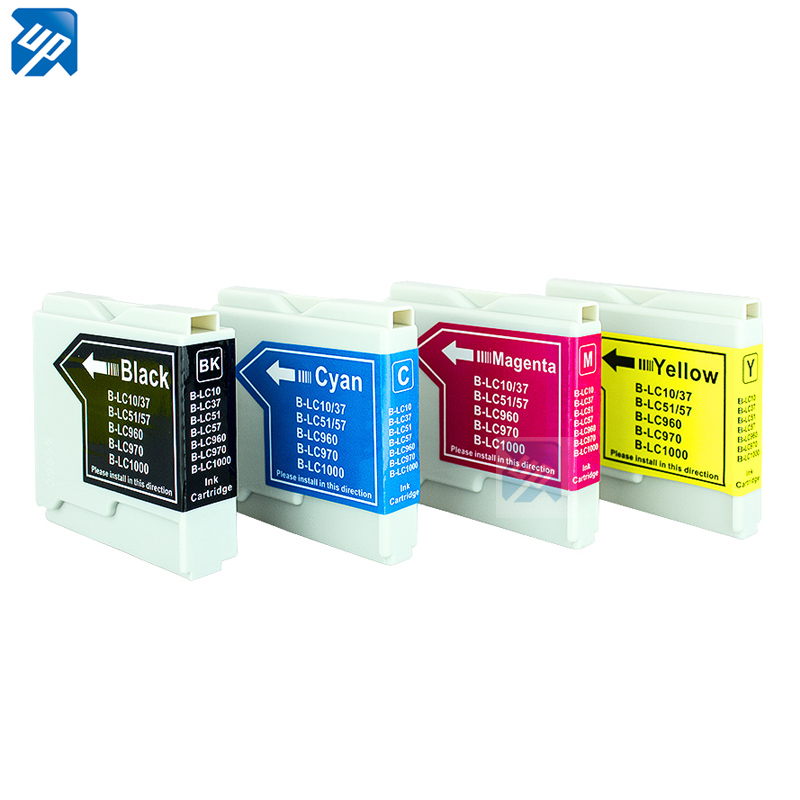 Tinte für DCP-135C 150C 330C 350C 357C 540 MFC-235C 240C 260C 440CN LC1000 LC970