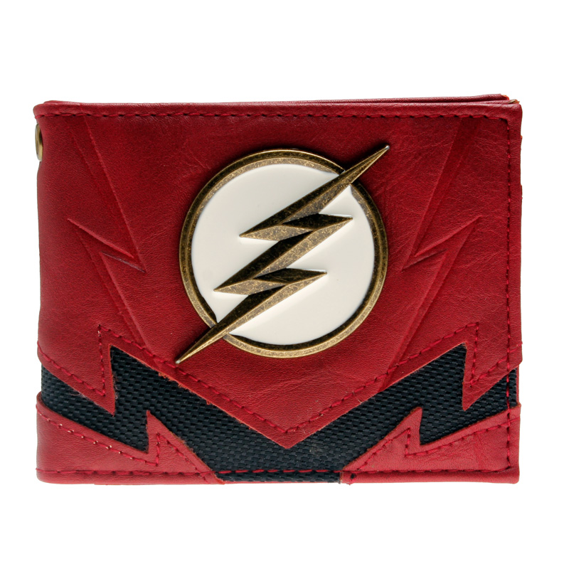 купить Flash wallet DC Comics Heroes vs Villains Bi-Fold Purse DFT-3036 по цене 868.38 рублей