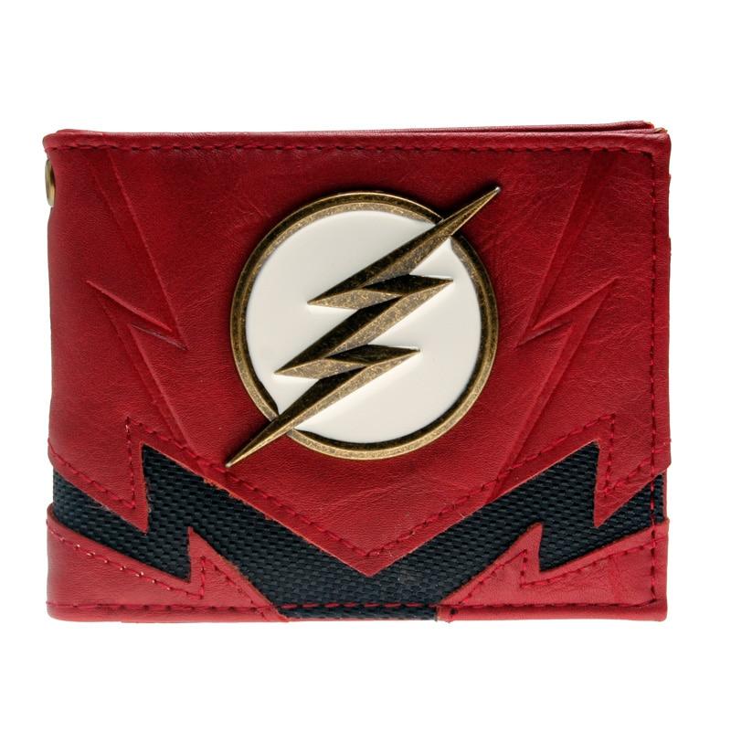 The Flash Wallet Heroes Vs Villains Bi-Fold Purse  DFT-3036