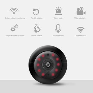 Image 3 - Sem fio mini wifi câmera 720p hd sensor de vídeo infravermelho visão noturna detecção movimento filmadora monitor do bebê segurança em casa