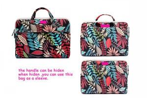 """Image 3 - Dizüstü bilgisayar macbook çantası Hava 13 13.3 """"Kılıf Pro 13 Retina 11 12 14 15 15.6 Çiçek Taşınabilir çanta çanta dell HP Xiaomi Dizüstü"""
