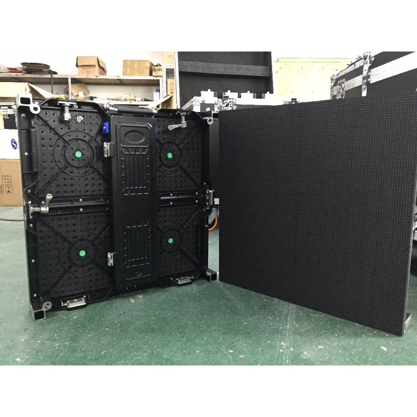 500×500mm 104*104pixels LED Die Casting Aluminum Cabinet P4.81 SMD2121 Indoor Video Wall For Full Color LED Display Screen Panel