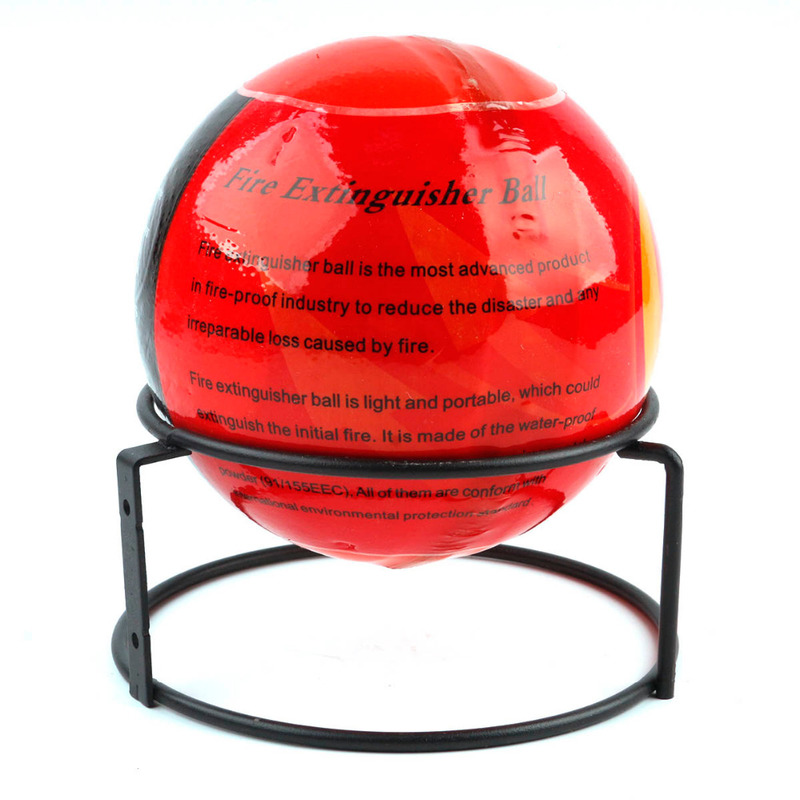 harmless dry powder extinguisher ball 20 square meters automatically extinguish the Fire protection Validity 5 years No danger mostly harmless