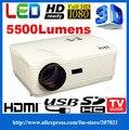 HD 1280*800 Портативный Светодиодный Видео цифровые Проекторы 220 Вт светодиодные лампы мультимедиа домашний кинотеатр 1080 P проектор проэктор hdmi АВИАДИСПЕТЧЕРОВ