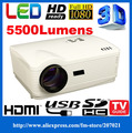 HD 1280*800 Led Portátil de Vídeo digital multimedia home theater Projetores 220 W lâmpada led 1080 P projetor proektor hdmi ATCO