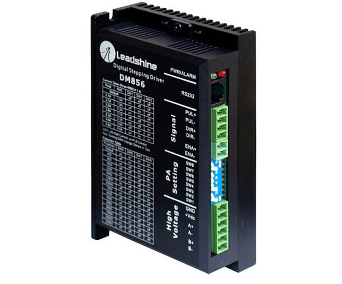 цена на Leadshine DM856 CNC Driver Digital Hybrid Stepper Drive 80VDC/5.6A