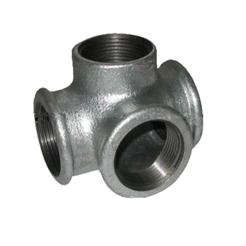 4 In Duct Fittings : Pcs dn inch black iron cast pipe threaded tee
