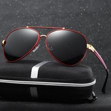 CHUN Fashion Designer Brand HD gafas de Sol Polarizadas de Los Hombres Polaroid UV400 gafas de Sol de Conducción Gafas De Sol Gafas + Caja Y28