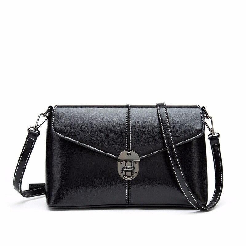 2018 Vintage PU cuir femmes sac mode serrure petites femmes Messenger sac unique sangle sac à bandoulière sacs à bandoulière