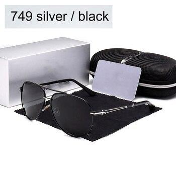 Hoge kwaliteit Gepolariseerde zonnebril Mannen vrouwen Brillen lLarge frame Dubbele beam Driving pilot Bril Oculos De UV400 met logo