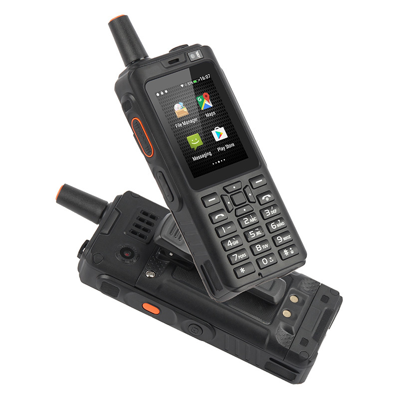 UNIWA Alpes F40 Zello Walkie Talkie teléfono móvil IP65 impermeable 2,4 Pantalla táctil LTE MTK6737M Quad Core 1GB + 8GB teléfono inteligente - 4