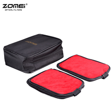 Zomei Black Coloration 16 items Pocket Digicam Filter Pockets Case Pouch 16 Slots Storage Bag for Round or 150mm Sq. Filter Case
