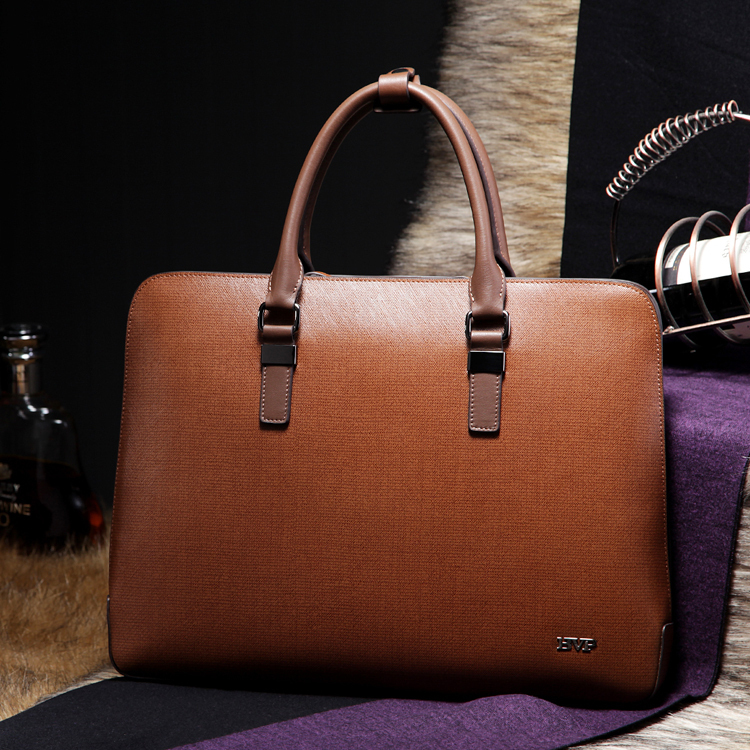 BVP - DHL Free Shipping Mens Top Genuine Leather Business Laptop Case Portfolio Tote Attache Fashion Bag 14 briefcase J30 free shipping men genuine leather briefcase brown color high quality fashion business messager shoulder attache portfolio totet8