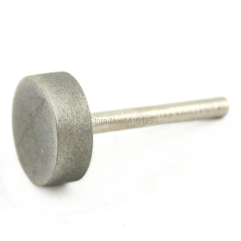Diamantová brusná hlava 30 mm Válec potažený upevněnými body - Brusné nástroje - Fotografie 6