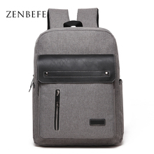 ZENBEFE Oxford Men'S Business Backpack Cool School Bag For Teenagers Durable Laptop Backpack Men Daypack Rucksack For Travel Bag все цены