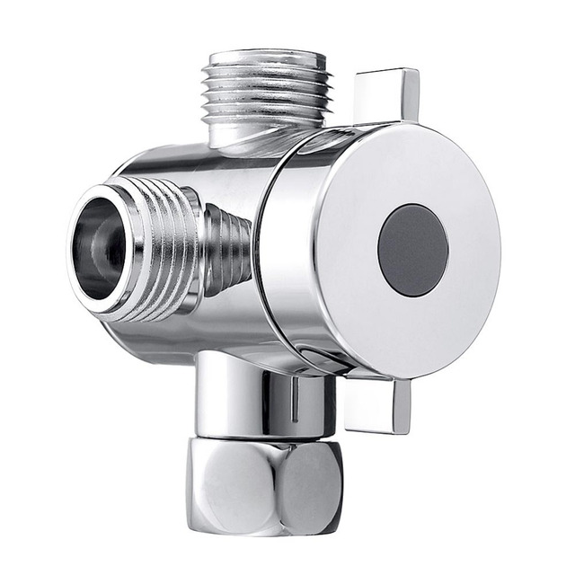 G1 2 3 Way Shower Head Diverter Valve Bathroom Switch Adapter For Toilet
