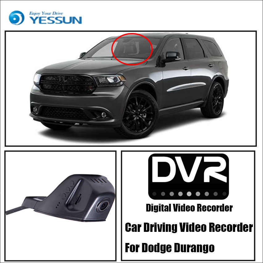 YESSUN Car DVR Digital Video Recorder Front Camera Dash for Dodge Durango HD 1080P Not Reverse Parking Camera