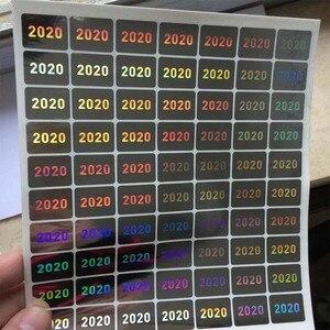 Image 2 - L Anno di 2020 2021 Ologramma 15 Millimetri X 20 Mm Invalidare La Garanzia Se Il Sigillo Rotto Adesivi Olografici Safty di Tenuta etichetta per Il Pacchetto