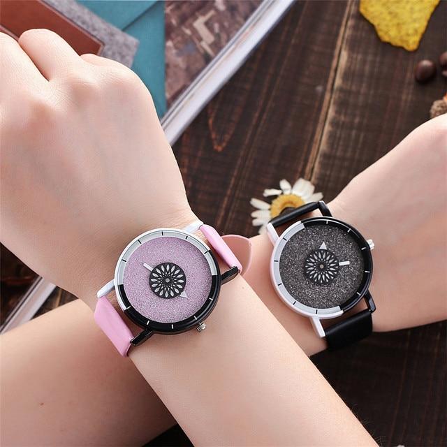 Vansvar Women's Casual Quartz Leather Band Newv Strap Watch Analog Wrist Watch l