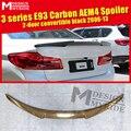 Для BMW E93 2-дверный Реверсивный задний спойлер заднего багажника из углеродного волокна  крыла Add on Style M4 Look 320i 323 325i 328i 330i 335i 06-13
