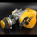 Hp 2-stroke 49cc motor de refrigeración por aire con hix-c7 bujía, hp círculo completo del cigüeñal. Racing Carburador/Al Por Mayor Directamente