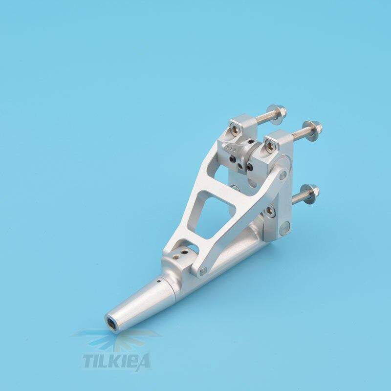 Ze stopu aluminium ze stopu aluminium 6.35mm elastyczny wałek Stinger Drive z regulacją kąta dla RC benzyna łódź w Części i akcesoria od Zabawki i hobby na  Grupa 3