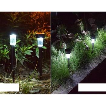 LED Solar Lamp Outdoor Waterproof Solar panel LED Spot Light Landscape Garden Path Lawn Solar Lamps Outdoor Grounding Sun Light цена 2017