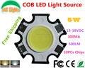 Frete Grátis Ultra bright 3 W 5 W 7 W 2010 COB LEVOU 100lm/W CONDUZIU a Lâmpada Lâmpadas fonte de luz CE RoHS 50000 horas LED diodo