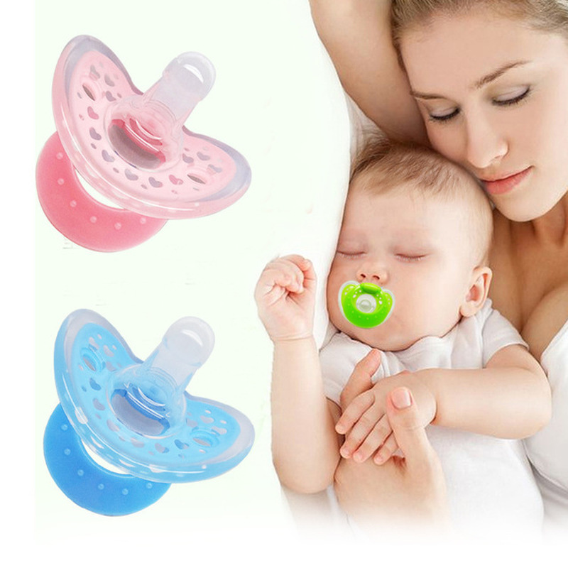 Newborn Baby Pacifier Soother Silicone Dummy Baby Pacifier Mordedor De Bebe Teether Soother Nipples Chupeta Chupetas Para Bebe in Pacifier from Mother Kids